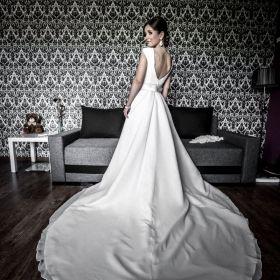 Suknia ślubna w stylu Meghan Markle