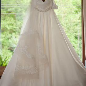 Perłowa Suknia ślubna