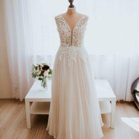 Szyta suknia ślubna