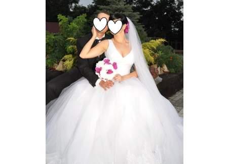Bajeczna suknia ślubna Maxima!