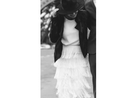 Wyjatkowa, oryginalna suknia, jedyna taka, bo szyta na zamówienie, rozm. 36