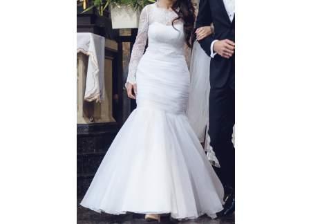 Piękna suknia ślubna Rozmiar 34 można przymierzać