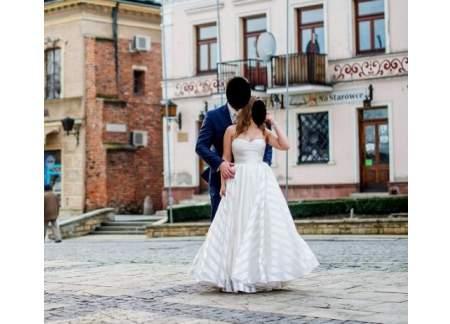 Oryginał Suknia ślubna IMPRESJA rozm. 36 (Rzeszów) JE47