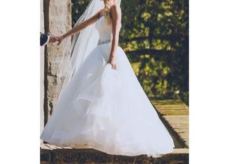 Suknia ślubna, princesska, Ariamo Bravia, rozmiar 34