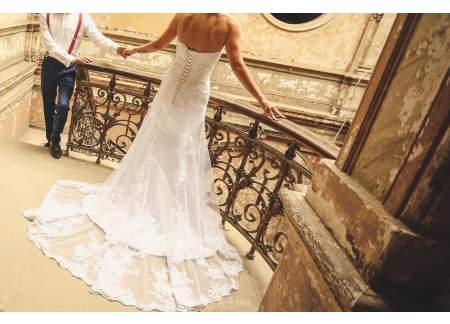 Sprzedam suknię typ syrenka
