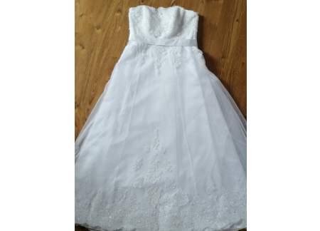Suknia ślubna Kroju A