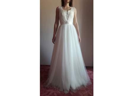 Suknia Gala Bride ecru + koło