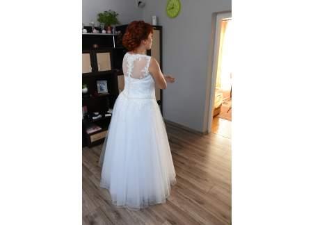 Wyjątkowa Suknia Ślubna Ciążowa