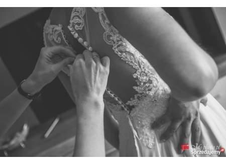 Okazja! Piękna suknia ślubna w kolorze Ivory