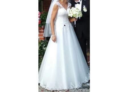 Suknia ślubna na 180 cm