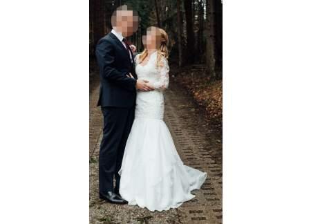 Amerykańska suknia ślubna