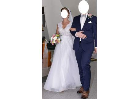 PATRYCJA PARDYKA Piękna suknia ślubna 2019