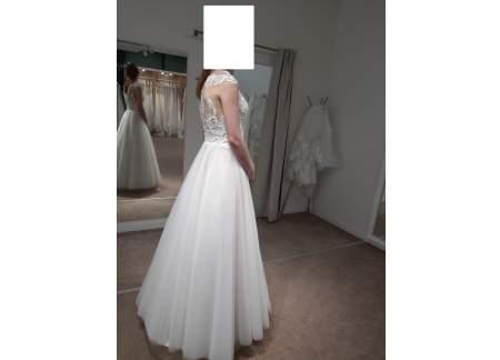 Suknia ślubna dla księżniczki ;)
