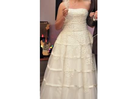 Suknia Ślubna rozmiar 38 ecru