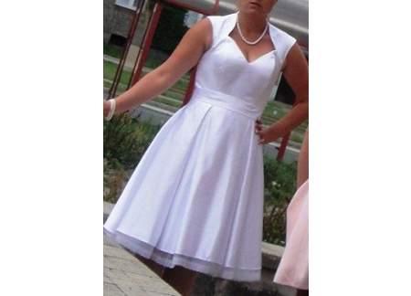 Suknia ślubna-krótka model Diana