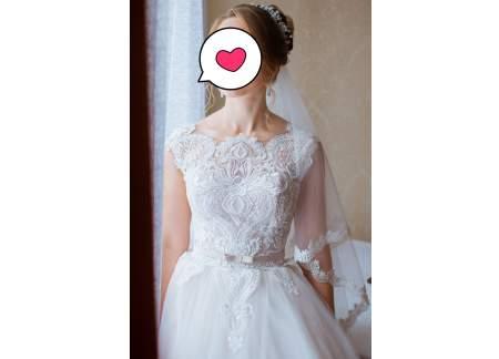 Suknia ślubna princeska, księżniczkowa r. M