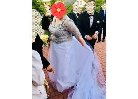 Suknia ślubna rozm 48-50-52
