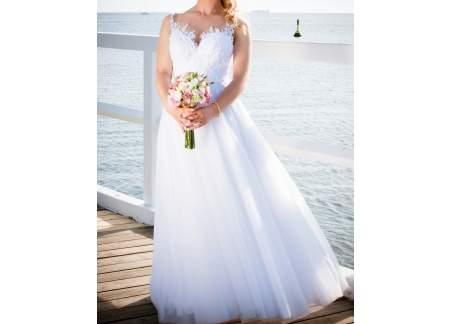 Suknia ślubna princessa/księżniczka