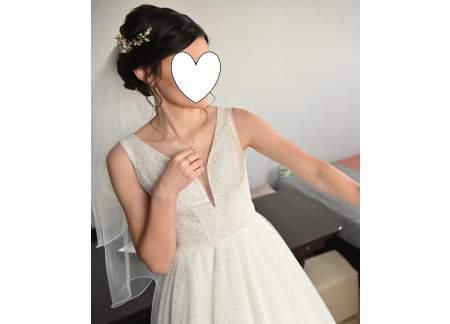 Sprzedam suknię ślubną z 2019r.