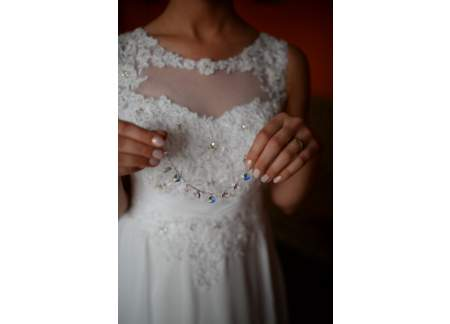 Sprzedam suknię ślubną, litera A, r.36, S