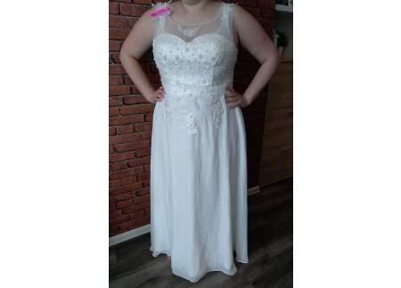 Suknia ślubna biała rozm. 44-46 NOWA