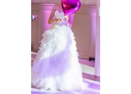 Suknia ślubna Maggio Ramatti, Fiesta Ivory, rozmiar 40