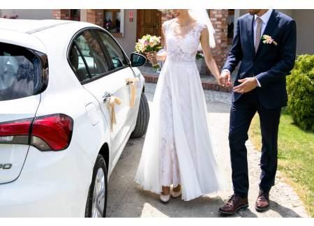 Przepiękna suknia ślubna w stylu Boho
