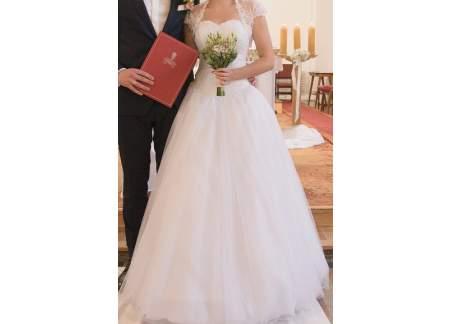 Suknia ślubna typy Księżniczka