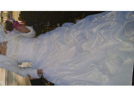 Suknia z koronką rozmiar. 36