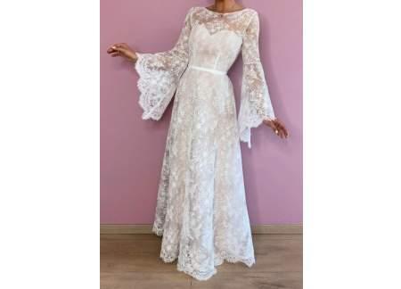 Suknia ślubna boho/rustykalna