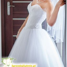 Suknia ślubna Princessa Kiężniczka z Salonu ADRIA 36 38